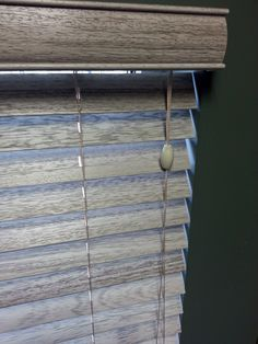 gray faux wood blinds - Google Search