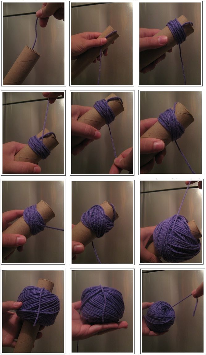 How to wind a foolproof ball of center-pull yarn
