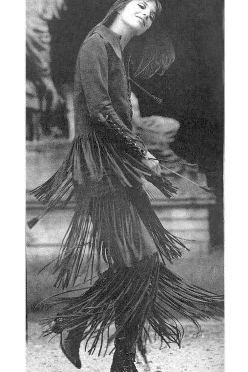 Jane Birkin fotograferad av Patrick Litchfield, 1969.