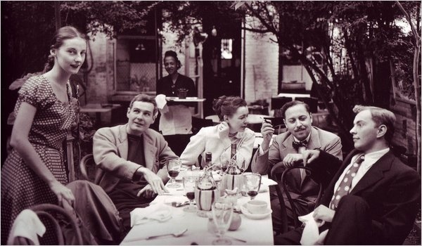 Karl Bissinger: Tanaquil Le Clercq, Donald Windham, Buffie Johnson, Tennessee Williams, Gore Vidal