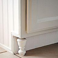DIY $1.87 kitchen cabinet feet from curtain finials!#/453314/diy-1-87-kitchen-cabinet-feet-from-curtain-finials?&_suid=136313113116007339935175183405