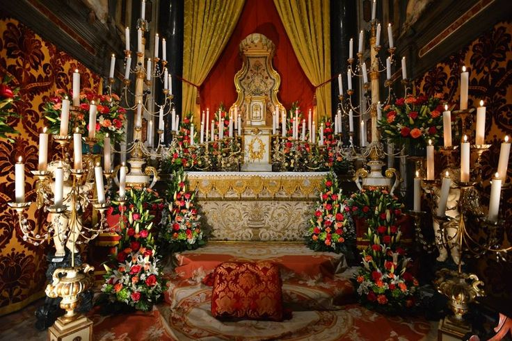 Altar of Repose, Holy Thursday, 2016, in Florence
