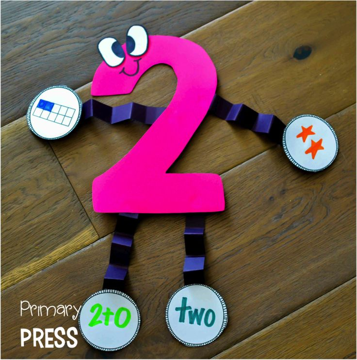 Best 25 number crafts ideas on pinterest preschool for Craft work for class 3