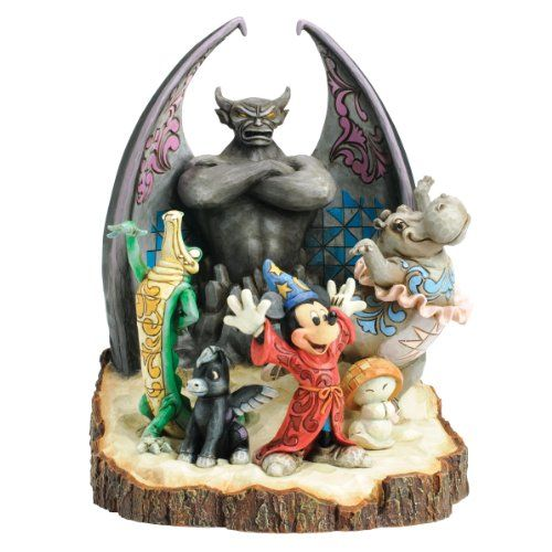 "Carved by Heart Series: ""Fantasia Symphony"", Ben Ali Gator, Chernabog, Hyacinth Hippo, Mickey Mouse as Sorcerer's Apprentice, Pegasus, Small Mushroom Hop Low - Fantasia (Released 2012)"