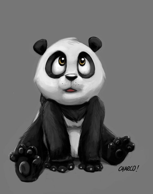 panda by ~charco on deviantART