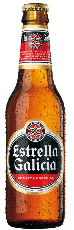 Cerveja Estrella Galicia - Cervejaria Hijos de Rivera