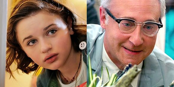 Joey King y Brent Spiner a bordo de 'Independence Day 2′