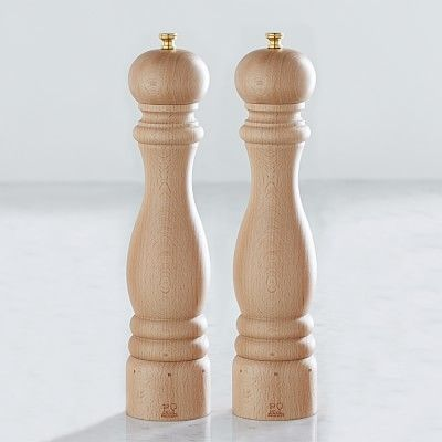 Peugeot Paris U Select Natural Salt & Pepper Mills Set, 12""