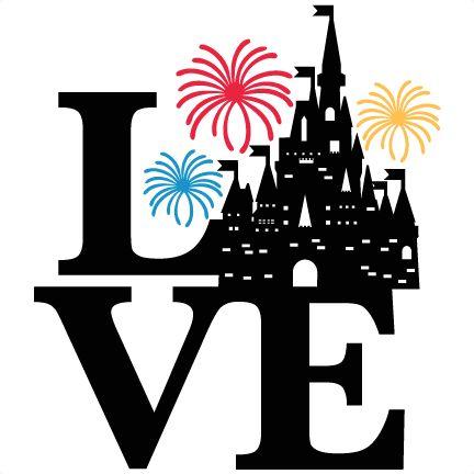 Love Castle Title SVG scrapbook cut file cute clipart files for silhouette cricut pazzles free svgs free svg cuts cute cut files