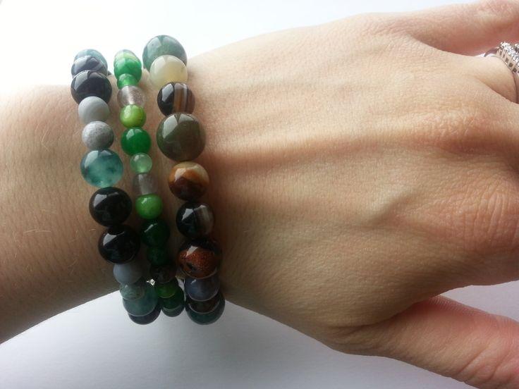 Protection Mala Bracelet Stack 3 bracelets by lovemeknottbilton, $50.00
