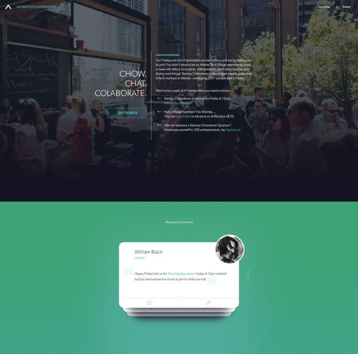 Atlanta Tech Village: Twitter Feed - by Greg Gonzalez for Mossio | #ui