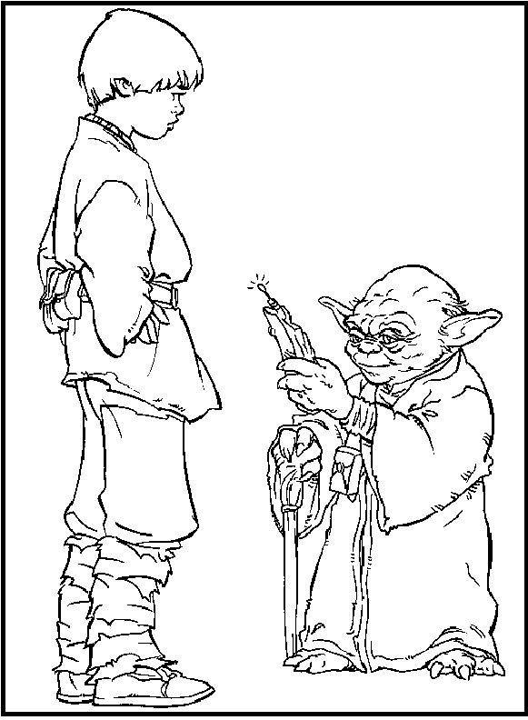 32 Best Images About Coloring Star Wars On Pinterest