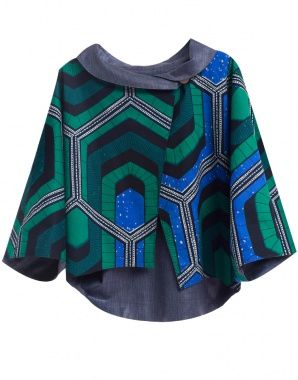 moyo product - SHATI GREEN JACKET - image 1