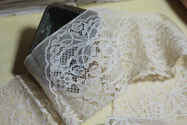 Блошиный онлайн белье старый дом / старый скатерти, кружева и бывший галантерея - белье сразу - Старый белье - Античный & старинных французское белье
