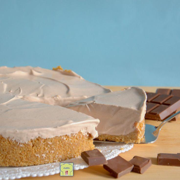 Torta fredda al cioccolato al latte, senza forno, una torta semifreddo golosa e con una ricetta facilissima anzi di più!