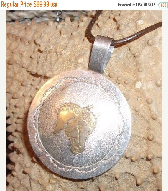 A personal favorite from my Etsy shop https://www.etsy.com/ca/listing/206015640/sale-sterling-silver-southwest-horse