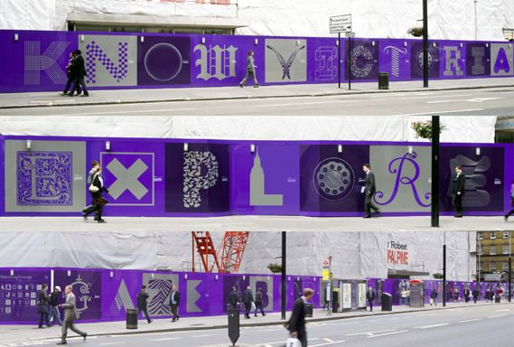 Hat-Trick's illuminated letters tell a London story - Creative Review