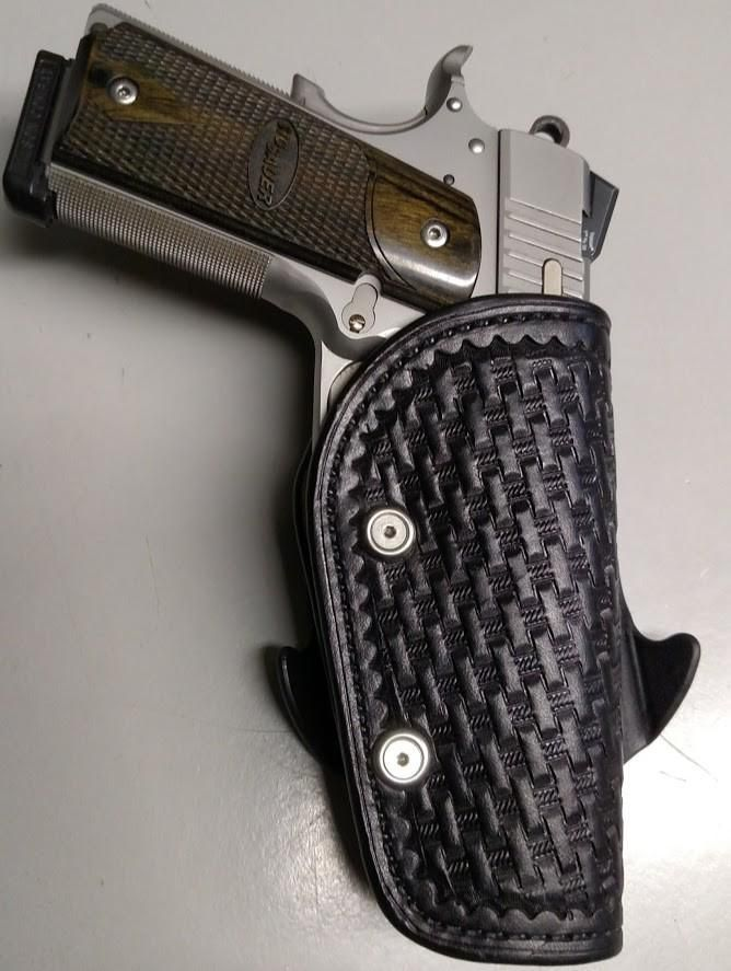 Paddle Holster are good looking, solid, well functional and more comfortable than Inside the Waistband holsters.