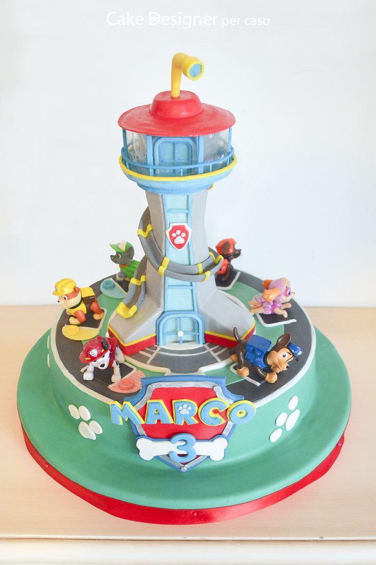 Cake Designer per caso [Paw Patrol Cake]