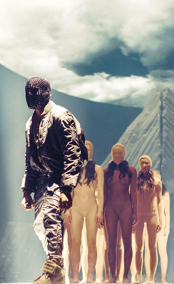 Yeezus tour. Set design. Kanye West.