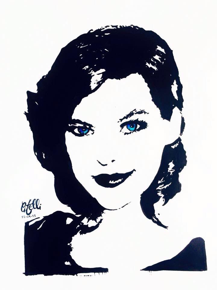 Milan Jovovich drawing
