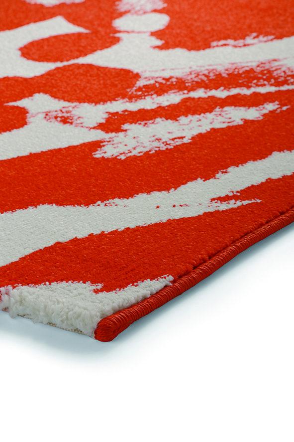 Esprit Energize oranje 200 x 290 cm - ESPRIT - Tapijt, moderne tapijten, designer tapijten, hoogpolig tapijten, kinderen tapijten