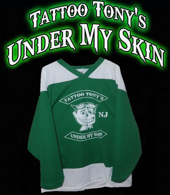 Limited Run on Hockey Jerseys...switch it up and don't do tshirts for something - order hockey jerseys - UnPaved Clothing Co