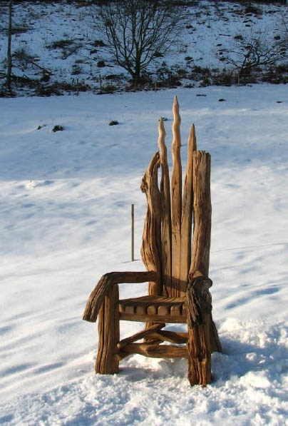 a-faerietale-of-inspiration: story telling chair . . .