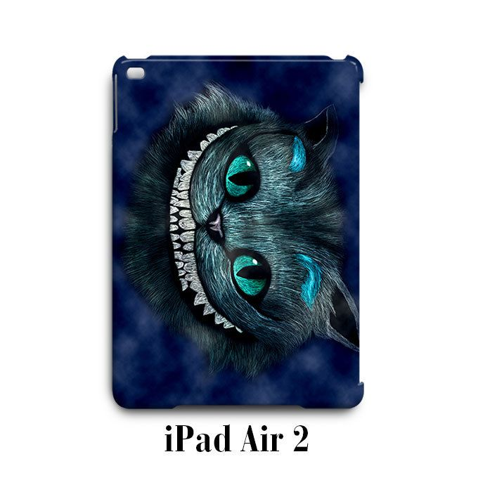 Chesire Cat Were All Mad Here iPad Air 2 Case Cover Wrap Around