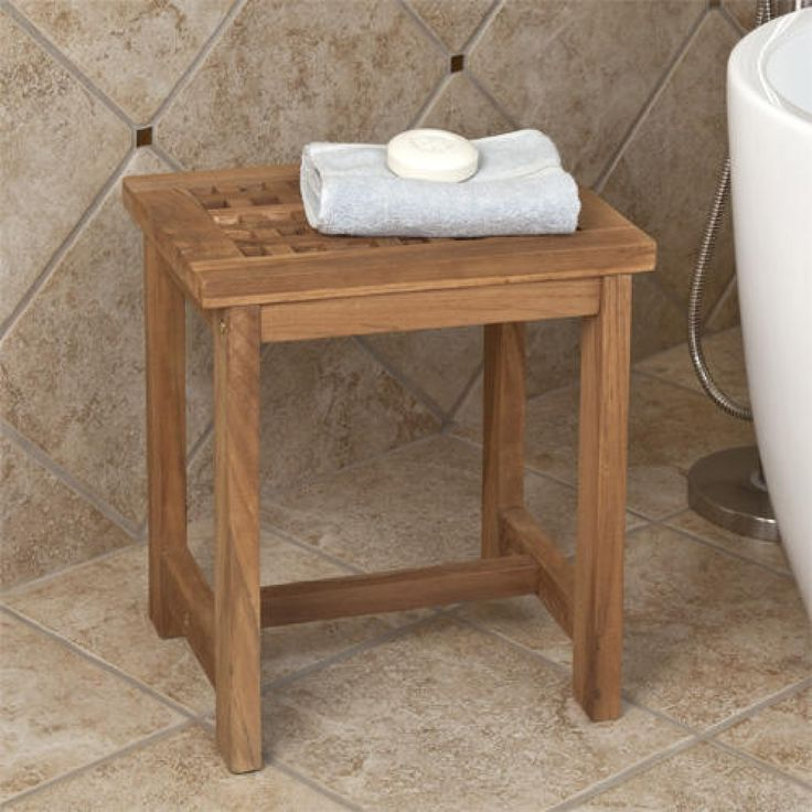 Teak Bathroom Stools best 25+ shower stools ideas on pinterest | shower seat, shower