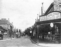 #oudtshoorn Church Street in the early 1900's