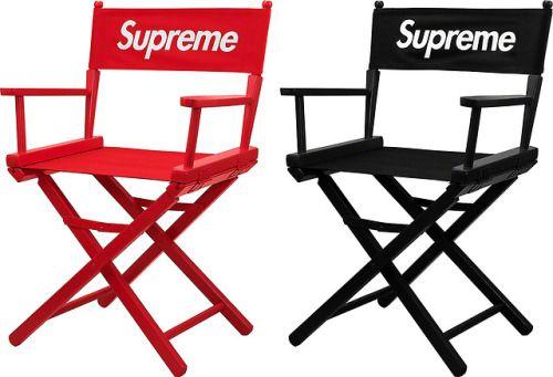 ramasser d0f1d fec13 Supreme SS19 Director's chair | Hype Beast en 2019