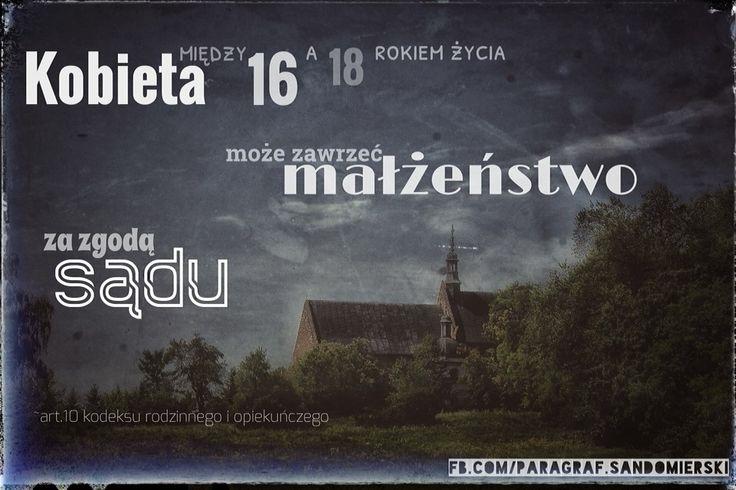 Małżeństwo a wiek adwokat Grzegorz Sarzyński  Tarnobrzeg ul. Sienkiewicza 55 tel. 662 742 432  Sandomierz Stalowa Wola Nisko Mielec Nowa Dęba Opatów