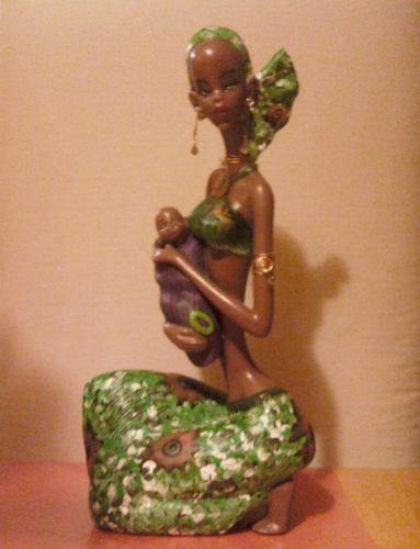 Africanas en ceramica buscar con google africanas - Cocinar en sartenes de ceramica ...