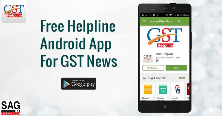 To Get more information regarding GST, like Latest Update News, Article, Draft law, GST FAQ and GST Calculator.Download GST Helpline Mobile App on your smartphone which is available on both platform Android/iOS.