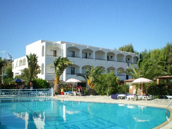 Ionikos Hotel #Kefalos #Kos located on the beachfront. Click on Book Now/More info for availability.