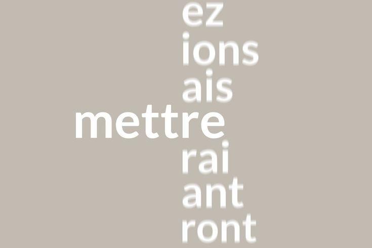 M s de 25 ideas incre bles sobre verbe mettre en pinterest for Meuble wordreference