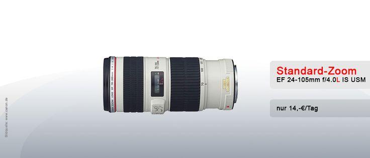 Objektiv Vermietung München - Canon EF 70-200mm f/4.0L II USM - Verleih