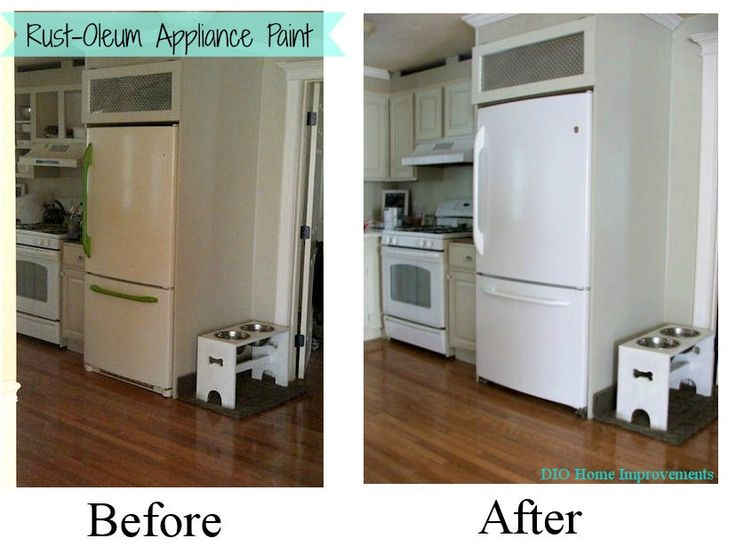 How To Paint An Appliance And Make It Look Glossy Shiny And