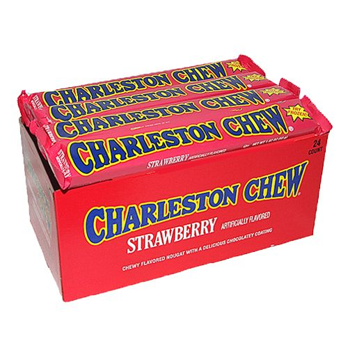 Strawberry Charleston Chew Candy Bar 1.87 oz.