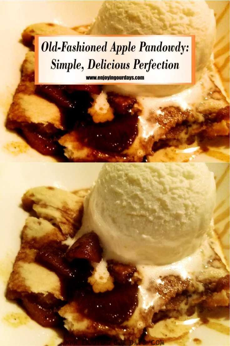 Ever heard of apple pandowdy? It's an old-fashioned dessert, sweetened with good ole' molasses! By now, you probably know that cooking at home, from scratch via @jenniferspears9