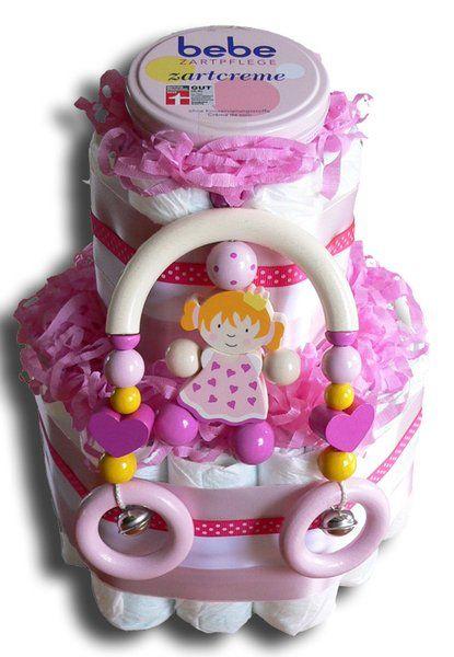 Prinzessin Windeltorte - Geschenk zur Geburt
