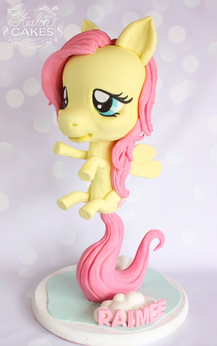 D My Little Pony Cake Tutorial