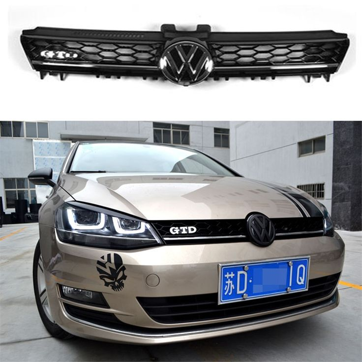 58.66$  Buy here - http://ali8u6.worldwells.pw/go.php?t=32737977044 - GTD Style For Volkswagon VW Golf 7 VII MK7 Auto Grill Front Grille Grill 2014~2016 (not for GTI and R)