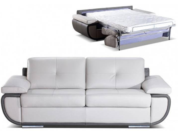 Schlafsofa Mit Matratze 3 Sitzer Leder Orgullosa Ii Standardleder Sofa Furniture Couch