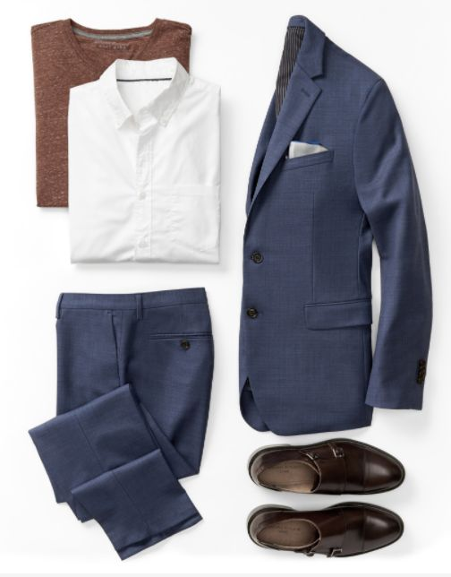 5 easy pieces. Find the building blocks of a great look in the Essentials Shop. It's the place to find timeless suits, go-to tees, sharp accessories and more. We're betting you find exactly what you want.
