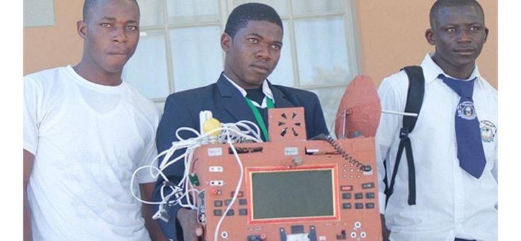 Namibie : un élève de 19 ans invente un téléphone sans fil, sans carte SIM, ni…