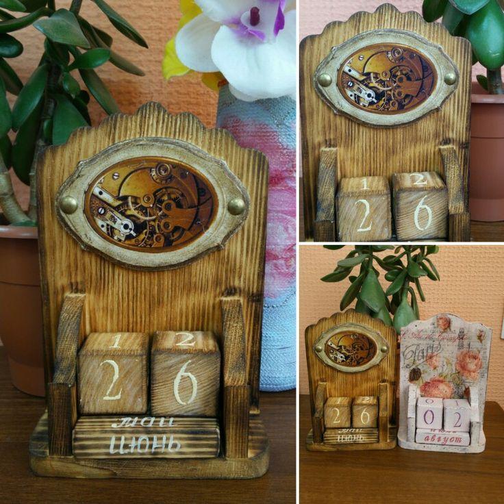 """Вечный календарь""""Время"""""""