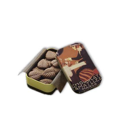 Amatller 60g. Frunze fine de ciocolata neagra
