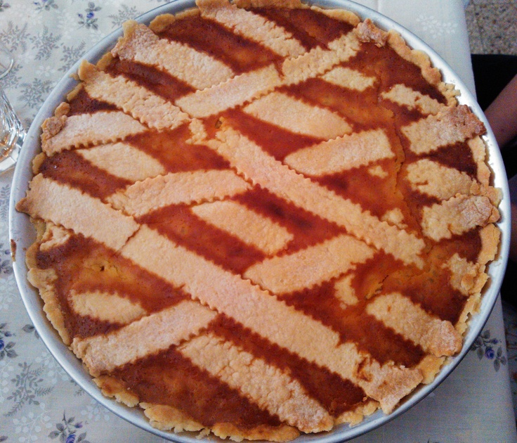 Do u like it? It's a typical Italian Easter cake (from Campania Region) called PASTIERA!!!